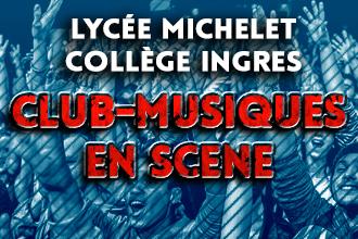 MERC 03/05 : CLUB-MUSIQUES EN SCÈNE
