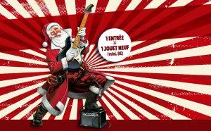 SAM 30/11 – Le Père Noël est un Rockeur…