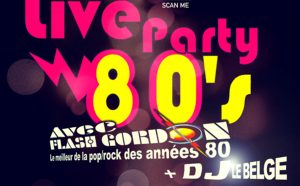 SAM. 18/1 : Live Party 80's