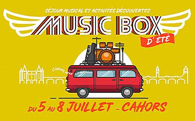 5 au 8/7 : Music Box d'été